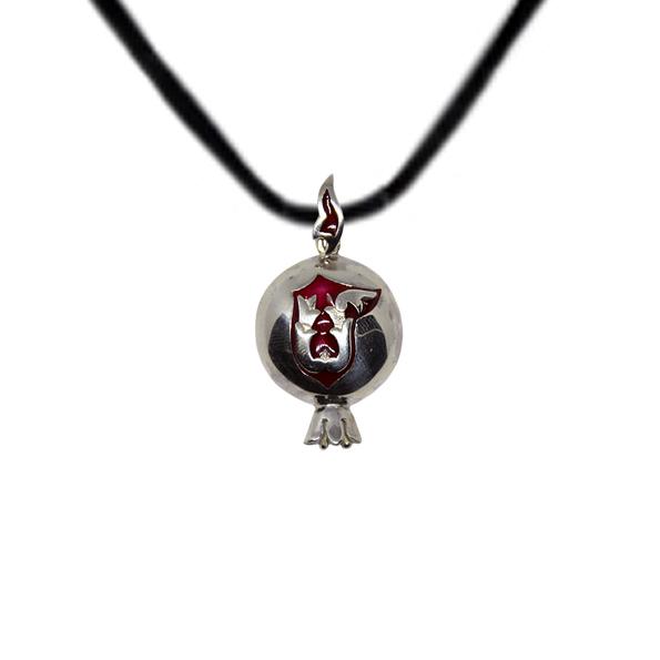 Armenian Handmade Pendant Pomegranate M